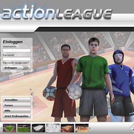Action League Screenshot 1