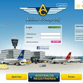 Airline Company Screenshot 1