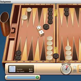 Onlinespiel Backgammon