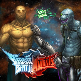 Bionic Battle Mutants Screenshot 1