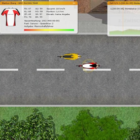 Cycling Manager Screenshot 2