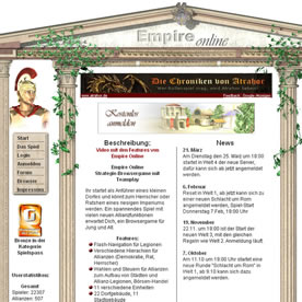 Empire Online Screenshot 1