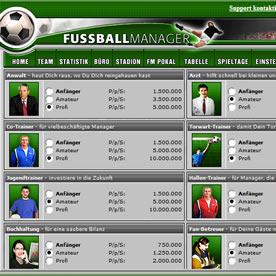 Fussballmanager.de Screenshot 4