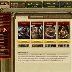 Gladiatus Screenshot 3