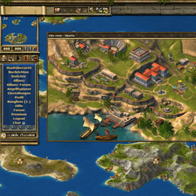 Grepolis Screenshot 2