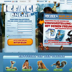 Ice Age Online Screenshot 1