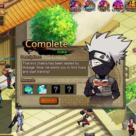 Naruto Saga Screenshot 4