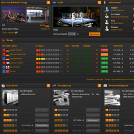 Online Boxing Manager Screenshot 4