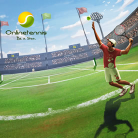 Online Tennis Screenshot 1