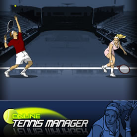 Online Tennis Manager Screenshot 1