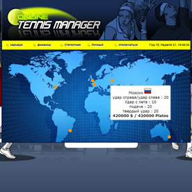 Online Tennis Manager Screenshot 4
