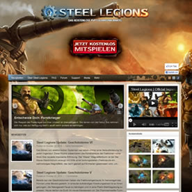 Steel Legions Screenshot 1